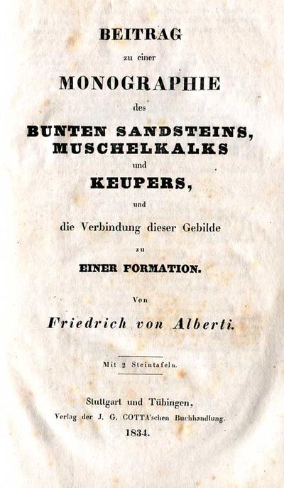 Alberti Monographie